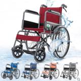 轮椅可折叠轻便老人手推车